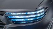 Chevrolet Niva teased headlight