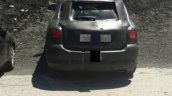 Fiat 500X spied rear