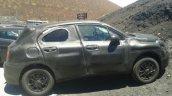 Fiat 500X spied side