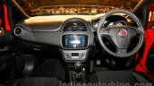 Fiat Punto Evo dashboard at the launch
