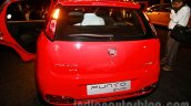 Fiat Punto Evo rear at the launch