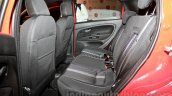 Fiat Punto Evo rear seat at the launch