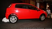 Fiat Punto Evo side at the launch