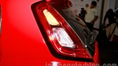 Fiat Punto Evo taillamp side at the launch