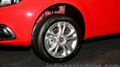 Fiat Punto Evo wheel at the launch