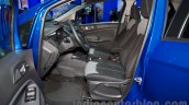 Ford EcoSport front seats at the 2014 Moscow Motor Show