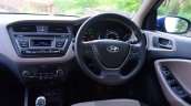 Hyundai Elite i20 Diesel Review dashboard