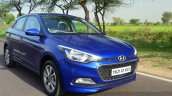 Hyundai Elite i20 Diesel Review dynamic front