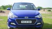 Hyundai Elite i20 Diesel Review fascia front