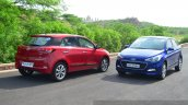 Hyundai Elite i20 Diesel Review front and rear