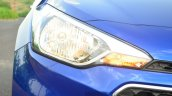 Hyundai Elite i20 Diesel Review front lights
