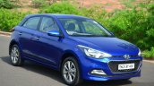 Hyundai Elite i20 Diesel Review front quarter angle