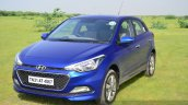Hyundai Elite i20 Diesel Review front quarter