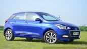 Hyundai Elite i20 Diesel Review front three quarter