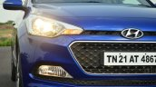 Hyundai Elite i20 Diesel Review headlight and foglight