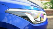 Hyundai Elite i20 Diesel Review headlight cluster