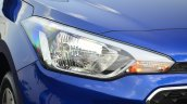 Hyundai Elite i20 Diesel Review headlight