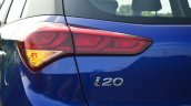 Hyundai Elite i20 Diesel Review i20 badge