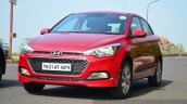 Hyundai Elite i20 Diesel Review in red