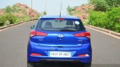 Hyundai Elite i20 Diesel Review rear angle