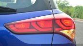Hyundai Elite i20 Diesel Review rear lights