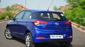 Hyundai Elite i20 Diesel Review rear quarter profile