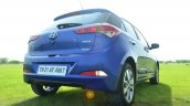 Hyundai Elite i20 Diesel Review rear stance