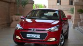 Hyundai Elite i20 Diesel Review red