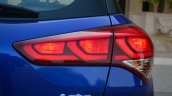 Hyundai Elite i20 Diesel Review taillight lit