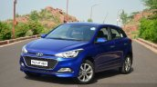 Hyundai Elite i20 Diesel Review three quarter front