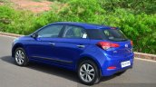 Hyundai Elite i20 Diesel Review three quarter rear
