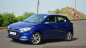 Hyundai Elite i20 Diesel Review three quarters front