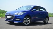 Hyundai Elite i20 Petrol Review front quarter