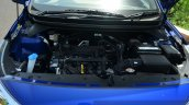 Hyundai Elite i20 Petrol Review hood