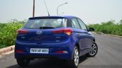 Hyundai Elite i20 Petrol Review rear quarters