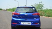 Hyundai Elite i20 Petrol Review rear