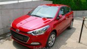 Hyundai Elite i20 launch front quarter