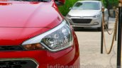 Hyundai Elite i20 launch headlight