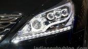 Hyundai Equus Limousine at 2014 Moscow Motor Show headlight