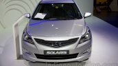 Hyundai Solaris facelift 2014 Moscow live front
