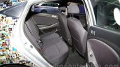 Hyundai Solaris facelift 2014 Moscow live rear seat