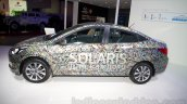 Hyundai Solaris facelift 2014 Moscow live side