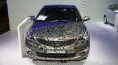 Hyundai Solaris facelift 2014 Moscow live