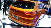 Hyundai ix25 production version rear three quarter at Chengdu Auto Show