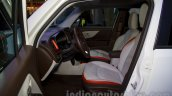 Jeep Renegade front seats at the Moscow Motor Show 2014