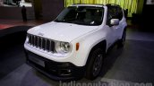 Jeep Renegade front there quarter  at the Moscow Motor Show 2014