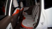 Jeep Renegade rear seats at the Moscow Motor Show 2014