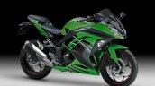 Kawasaki Ninja 300 Special Edition front three quarter