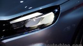 Lada Vesta Concept headlight at the Moscow Motor Show 2014