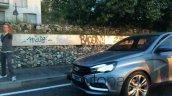 Lada Vesta Concept spied in Russia front